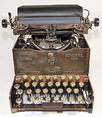 màquina d'escriure Minerva
