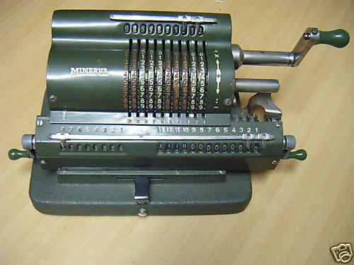 calculadora mecànica Minerva